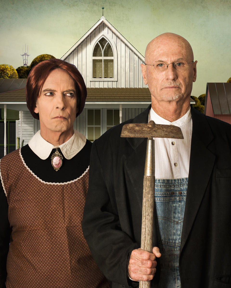 American Gothic Grant Wood